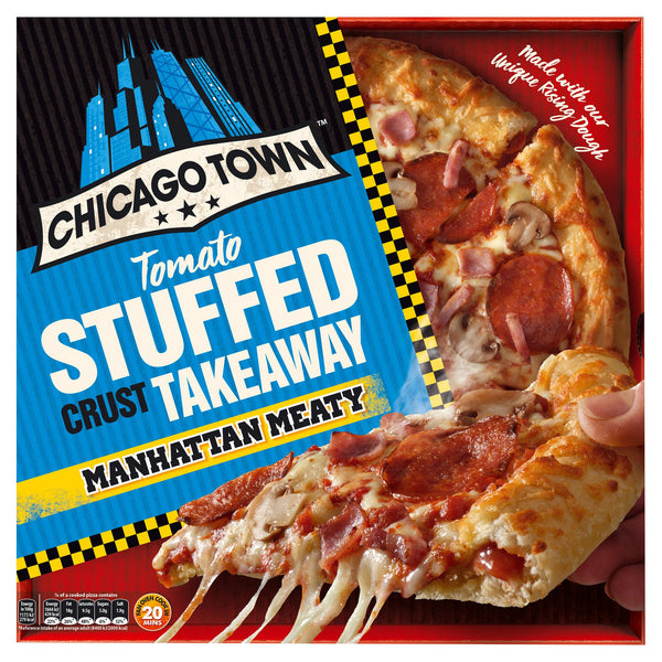 Manhattan Meaty Pizza Chicago Town 30cm