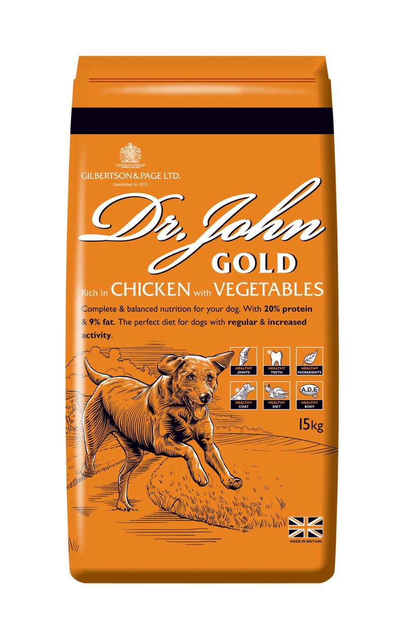 DR.JOHN GOLD 15Kg Dog Food