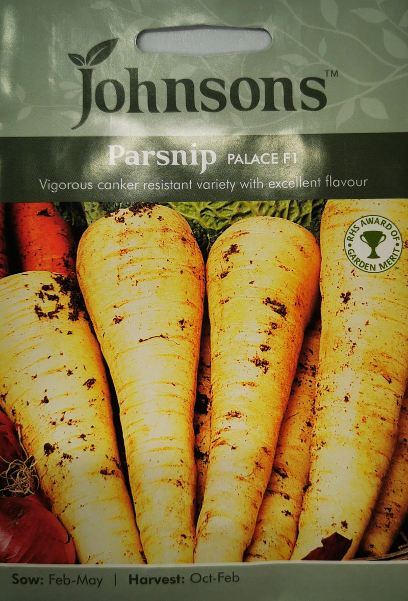 Johnsons Parsnip Palace F1 Seeds