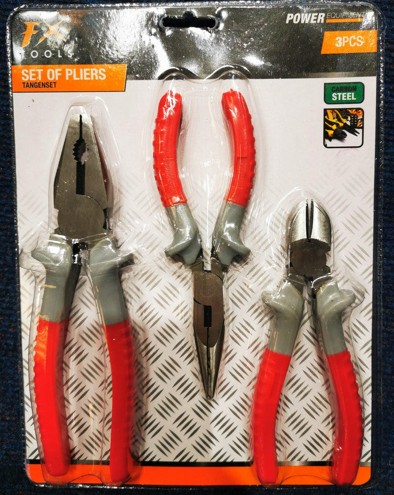 Plier Set 3Pcs
