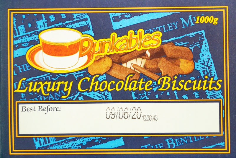 Dunkable Luxury Chocolate Biscuits **Box**