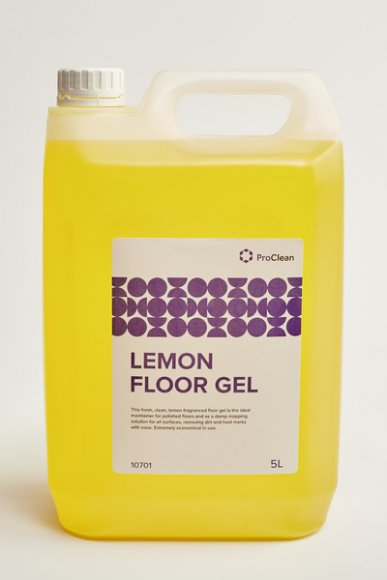 Lemon Floor Gel - ProClean 5lt