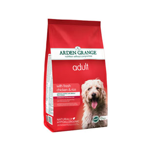 ARDEN GRANGE CHICKEN DOG FOOD 12KG