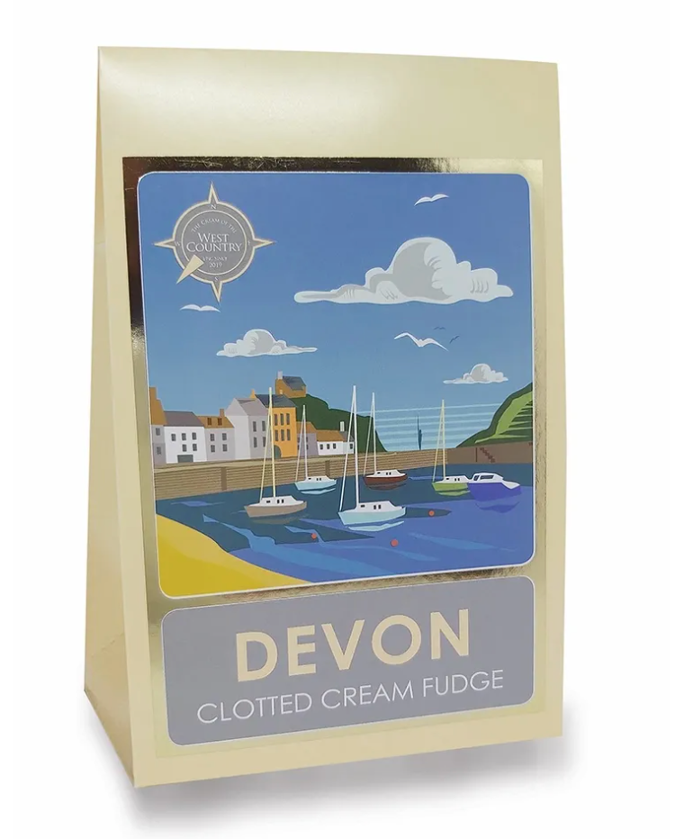 Devonly Clotted Cream Fudge 170g