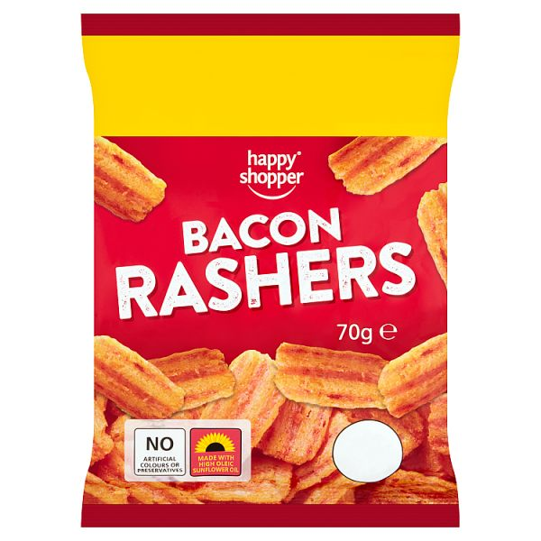 Bacon Rashers 70g