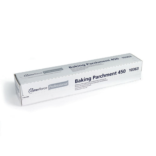 Baking Parchment in Cutter Box - Caterforce 45cm wide