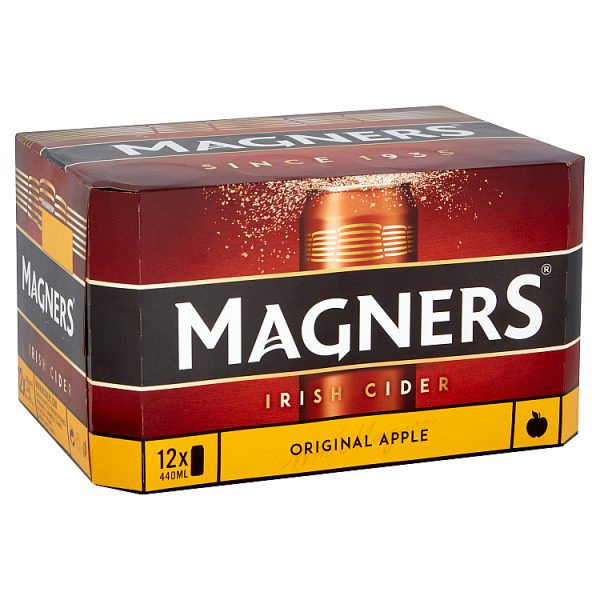 Magners Irish Cider Original Apple 24 x 440ml