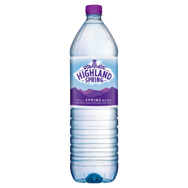 Highland Spring Still Spring Water 2L X 6