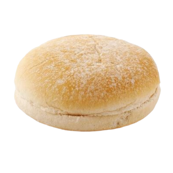 "Floured Sliced White Buns Chef Selection 5"" Pack of 8"