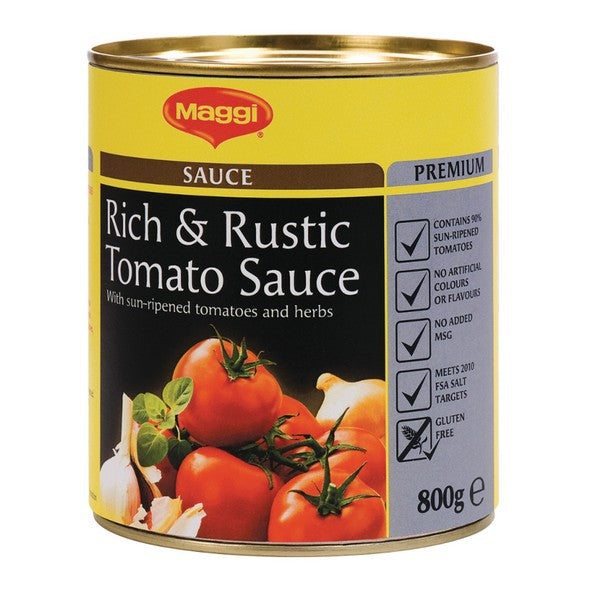 Rich & Rustic Tomato Cooking Sauce 800g