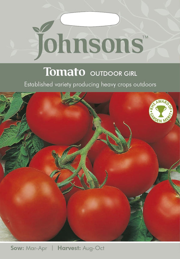 "Johnsons Tomato ""Outdoor Girl"" SEEDS"
