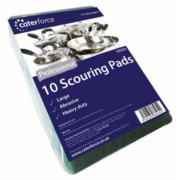 Heavy Duty Scouring Pads pack 10