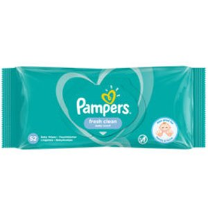 PAMPERS WIPES FRESH Pack 52
