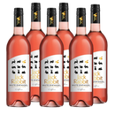 Jack Rabbit White Zinfandel 750ml X 6 Bottles
