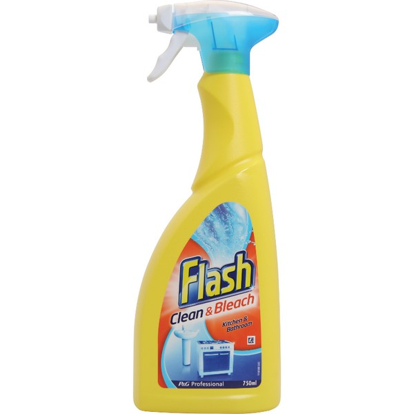Professional P&G Clean & Bleach Spray - Flash 750ml