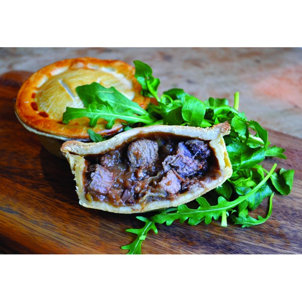 Tom's Pies - Steak & Exeter Ale Pie 260g Box 6