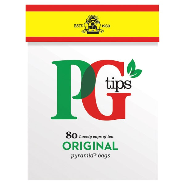 PG TIPS 80S PYRAMID TEA BAGS 232G