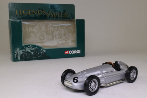 Corgi Classics 00203; 1939 Mercedes-Benz W154 Grand Prix Car; Silver