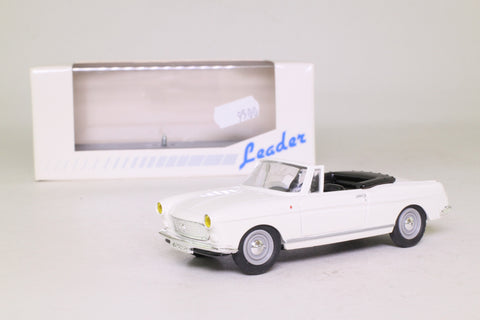Leader 140033; 1961 Peugeot 404 Cabriolet; Open; White