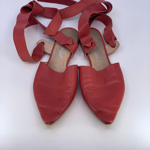 Primary Photo - BRAND: FREE PEOPLE STYLE: SHOES FLATS COLOR: RED SIZE: 9 SKU: 315-31513-81780