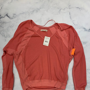 Primary Photo - BRAND: WE THE FREE STYLE: TOP LONG SLEEVE COLOR: ORANGE SIZE: S SKU: 315-31513-76219