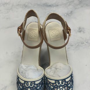 Primary Photo - BRAND: TORY BURCH STYLE: SANDALS COLOR: BLUE SIZE: 10 SKU: 315-31513-68109