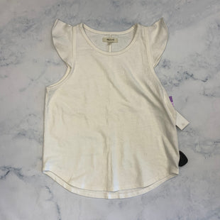 Primary Photo - BRAND: MADEWELL STYLE: TOP SLEEVELESS COLOR: WHITE SIZE: S SKU: 315-31513-83050
