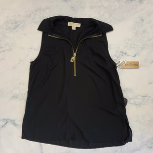 Primary Photo - BRAND: MICHAEL KORS STYLE: TOP SLEEVELESS COLOR: BLACK SIZE: S SKU: 315-31513-81297