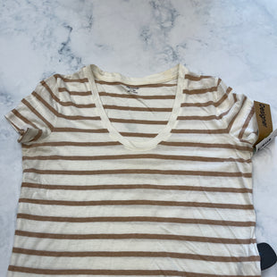 Primary Photo - BRAND: MADEWELL STYLE: TOP SHORT SLEEVE BASIC COLOR: STRIPED SIZE: XS SKU: 315-31513-82247