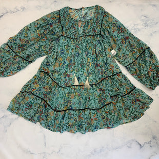 Primary Photo - BRAND: FREE PEOPLE STYLE: DRESS LONG SLEEVECOLOR: GREEN SIZE: XS SKU: 315-31513-82659