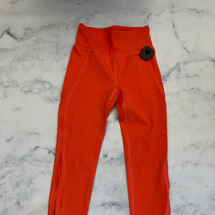 Primary Photo - BRAND: FREE PEOPLE STYLE: ATHLETIC CAPRIS COLOR: ORANGE SIZE: XS SKU: 315-31513-66616