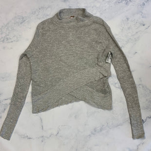 Primary Photo - BRAND: FREE PEOPLE STYLE: TOP LONG SLEEVE COLOR: GREY SIZE: S SKU: 315-31513-81100