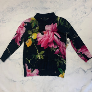 Primary Photo - BRAND: TED BAKER STYLE: SWEATER LIGHTWEIGHT COLOR: FLORAL SIZE: L SKU: 315-31513-82972