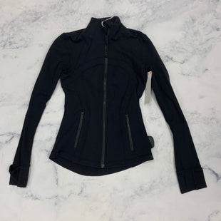 Primary Photo - BRAND: LULULEMON STYLE: ATHLETIC JACKET COLOR: BLACK SIZE: 2 OTHER INFO: AS IS SKU: 315-31512-28082