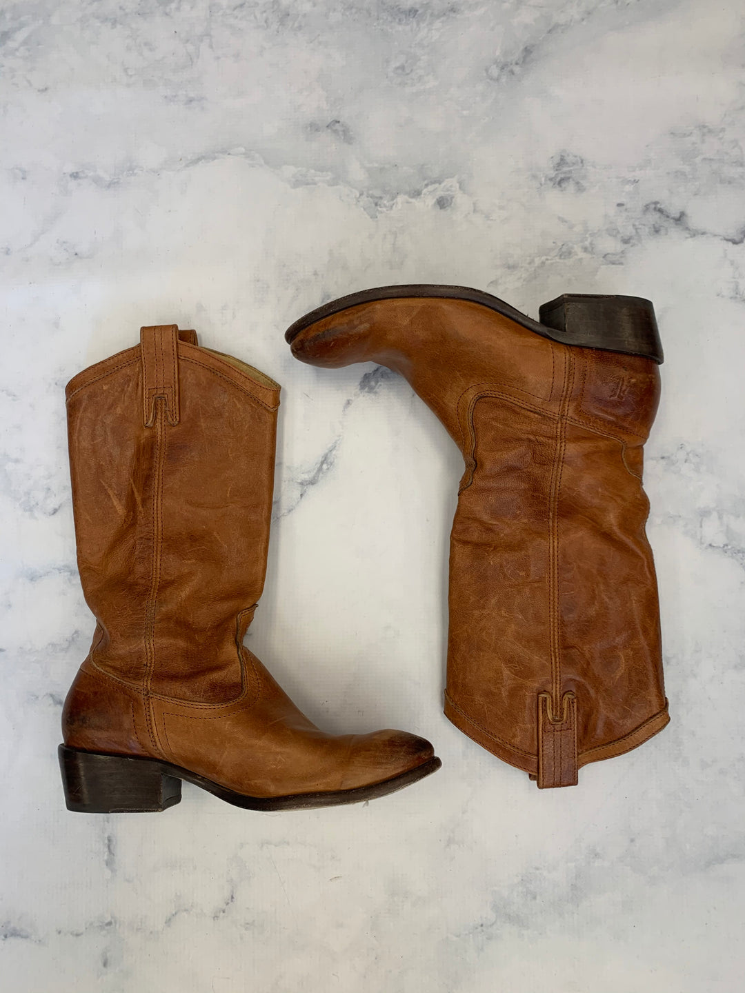 Primary Photo - BRAND: FRYE <BR>STYLE: BOOTS KNEE <BR>COLOR: BROWN <BR>SIZE: 8 <BR>SKU: 315-31512-27484<BR>PERFECTLY WORN