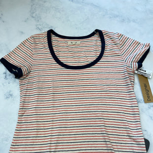 Primary Photo - BRAND: MADEWELL STYLE: TOP SHORT SLEEVE BASIC COLOR: STRIPED SIZE: S SKU: 315-31513-82246