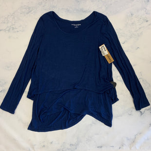 Primary Photo - BRAND: SOFT SURROUNDINGS STYLE: TOP LONG SLEEVE BASIC COLOR: BLUE SIZE: S SKU: 315-31512-31311