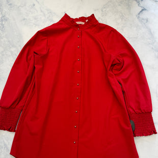 Primary Photo - BRAND: SOFT SURROUNDINGS STYLE: TOP LONG SLEEVE COLOR: RED SIZE: PETITE   XS SKU: 315-31513-82878