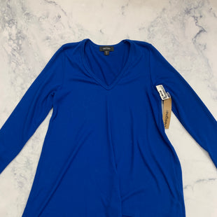 Primary Photo - BRAND: KAREN KANE STYLE: TUNIC LONG SLEEVE COLOR: BLUE SIZE: M SKU: 315-31513-75471
