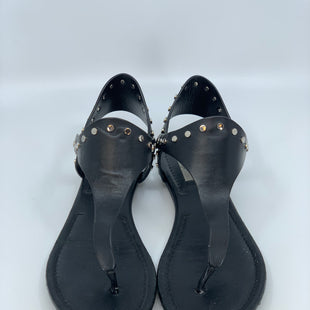 Primary Photo - BRAND: JIMMY CHOO STYLE: SANDALS FLAT COLOR: BLACK SIZE: 7.5 OTHER INFO: AS IS MINOR WEAR SKU: 315-31513-40395
