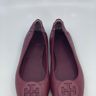 Primary Photo - BRAND: TORY BURCH STYLE: SHOES FLATS COLOR: MAROON SIZE: 8.5 SKU: 315-31525-3481