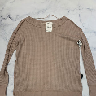 Primary Photo - BRAND: WE THE FREE STYLE: TOP LONG SLEEVE COLOR: TAUPE SIZE: XS SKU: 315-31513-76218