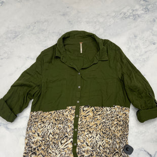 Primary Photo - BRAND: FREE PEOPLE STYLE: TOP LONG SLEEVE COLOR: OLIVE SIZE: L SKU: 315-31513-81832