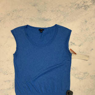 Primary Photo - BRAND: ANN TAYLOR STYLE: TOP SLEEVELESS BASIC COLOR: BLUE SIZE: PETITE LARGE SKU: 315-31513-76999