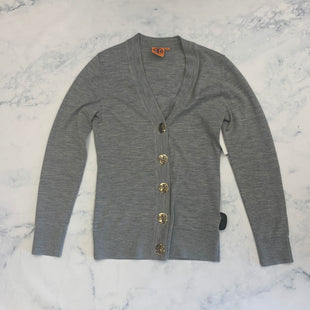 Primary Photo - BRAND: TORY BURCH STYLE: SWEATER CARDIGAN LIGHTWEIGHT COLOR: GREY SIZE: XS SKU: 315-31513-83042