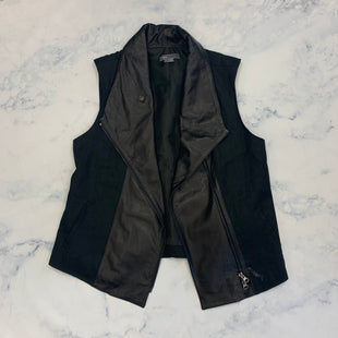Primary Photo - BRAND: VINCE STYLE: VEST COLOR: BLACK SIZE: L SKU: 315-31513-82982