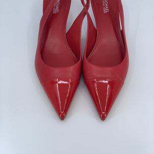 Primary Photo - BRAND: MICHAEL KORS STYLE: SHOES LOW HEEL COLOR: RED SIZE: 6 SKU: 315-31525-3469