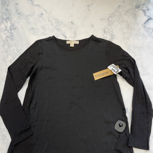 Primary Photo - BRAND: MICHAEL BY MICHAEL KORS STYLE: TOP LONG SLEEVE BASIC COLOR: BLACK SIZE: XS SKU: 315-31513-82883