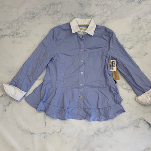 Primary Photo - BRAND: KATE SPADE STYLE: TOP LONG SLEEVE COLOR: BLUE SIZE: XXS SKU: 315-31512-31058