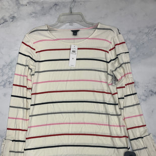 Primary Photo - BRAND: ANN TAYLOR STYLE: TOP LONG SLEEVE BASIC COLOR: STRIPED SIZE: M SKU: 315-31513-75094